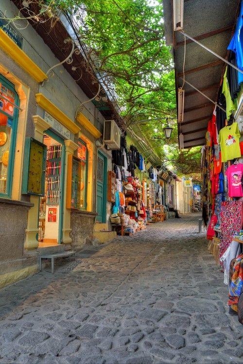 Molyvos, Greece,