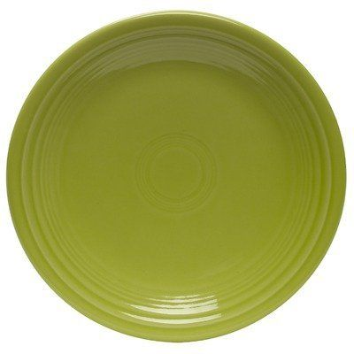 Fiesta 9-Inch Luncheon Plate, Lemongrass by Fiesta. $15.26. Fully vitrified china with a lead and cadmium free glaze. Made in the USA since 1936. 5-year chip warranty. Includes one luncheon plate. Dishwasher, microwave and oven safe. Fiesta 9-inch luncheon plate manufactured by the Homer Laughlin China company. America's largest domestic producer of dinnerware, and the sole manufacturer of all fiesta dinnerware. All fiesta pieces are microwave safe, oven-proof, dishwasher...