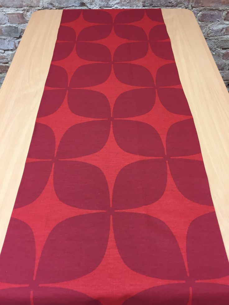 Elegant Table Runner Red With Dark Red, Modern Style, Great Gift By SiKriDream On  Etsy