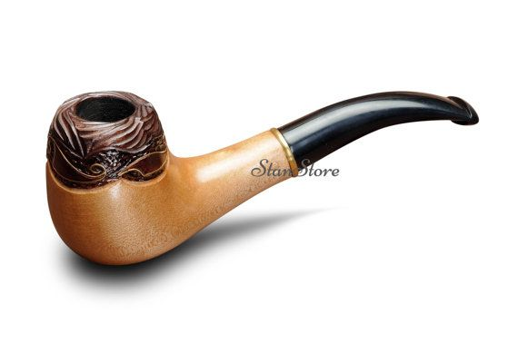 Carved Smoking Pipe Wooden Pipe Tobacco Pipe Tobacco Bowl