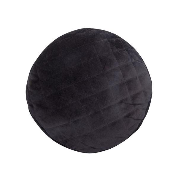 Shut The Front Door   Cushion Odette BLACK Velvet   Shut the Front Door