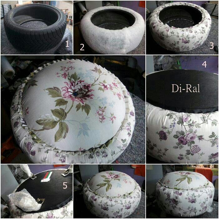 Tire table craft ideas pinterest for Tire craft ideas