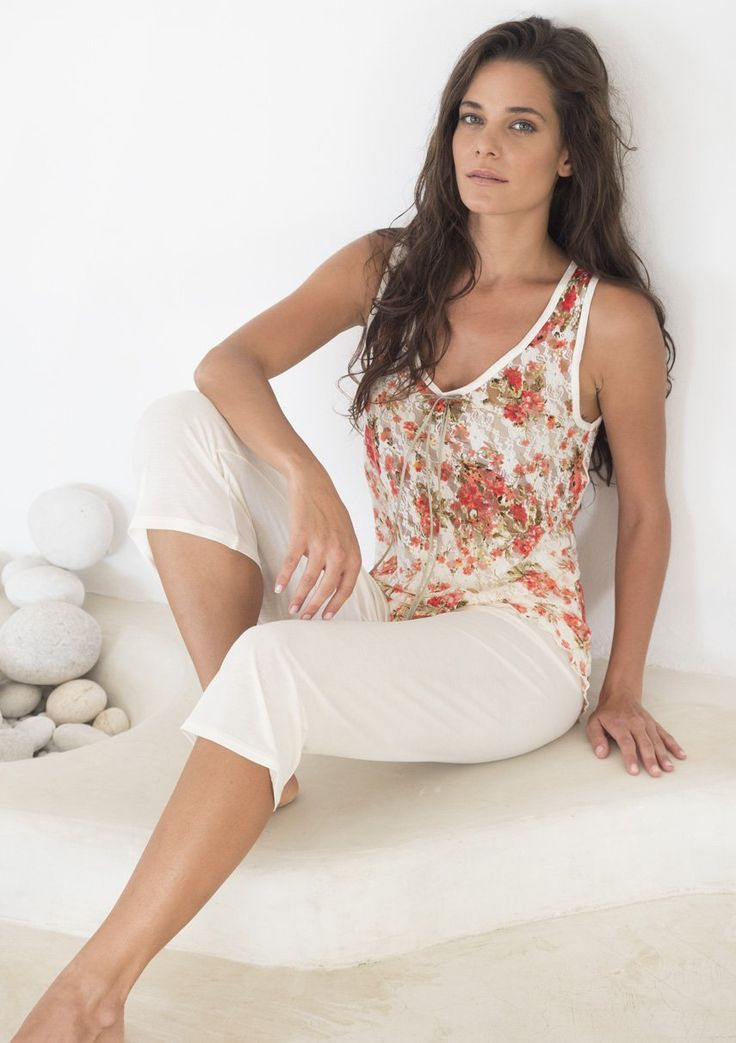 Summer Pyjama with lace top #notalingerie