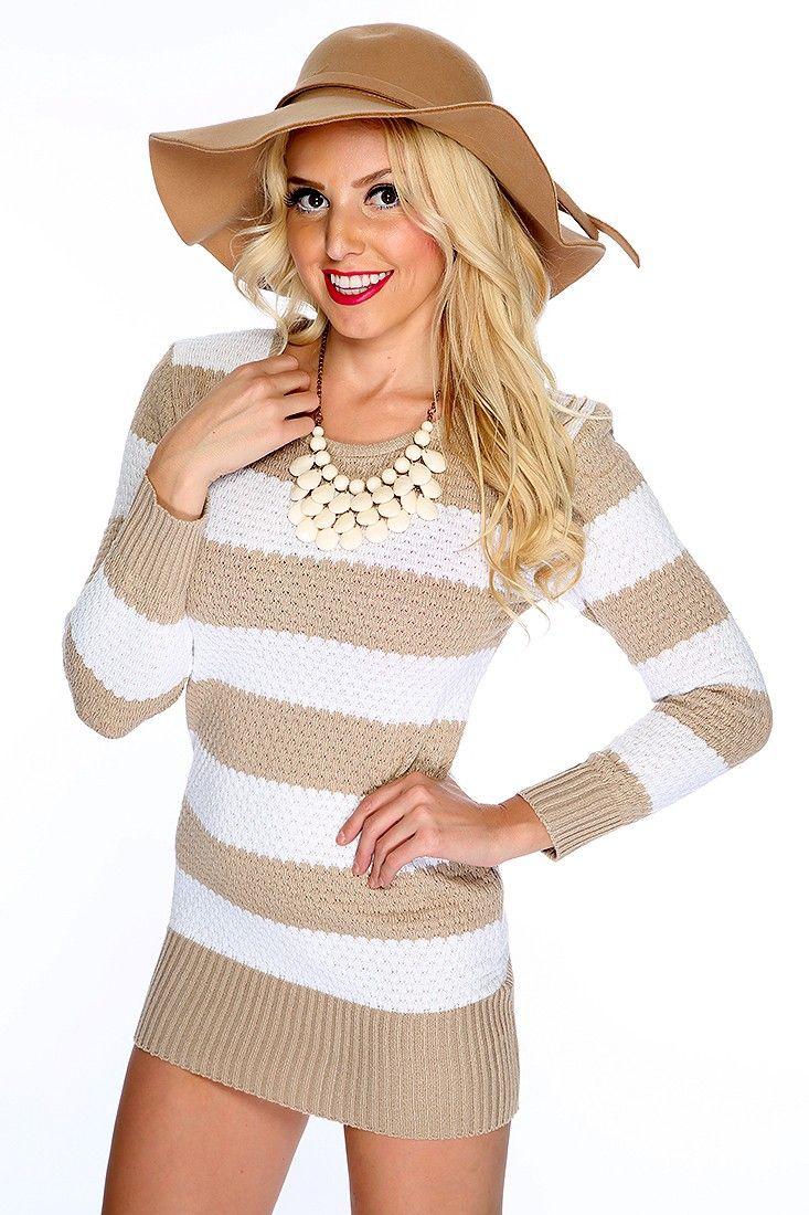 147 best Cute Sweater Dresses! images on Pinterest   Clubwear ...