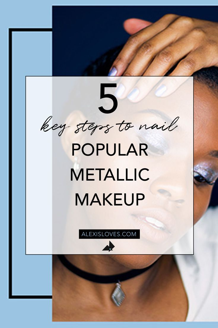 I LOVE metallic makeup!  But I'm a natural makeup kinda girl, so I don't want to go too far, nor look like I'm stuck in the 80s, lol!  If you want to wear fun #metallicmakeup , which is always on trend, and still look fresh faced, watch my #makeuptutorial !