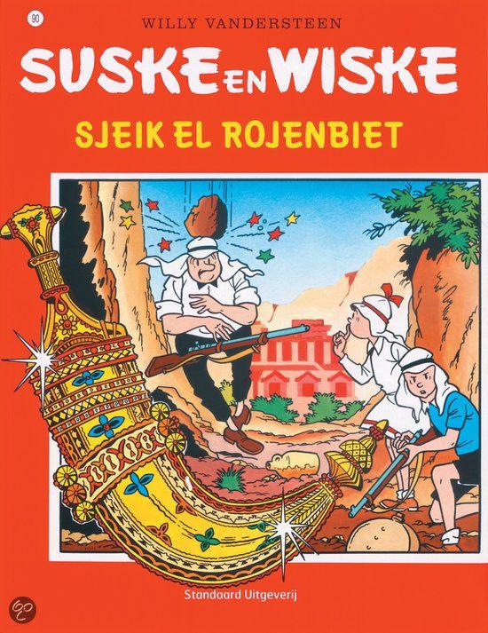 90 - Suske en Wiske - Sjeik El Rojenbiet