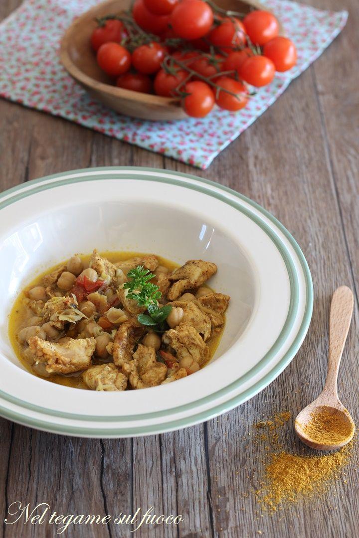 Zuppa marocchina a base di tacchino e legumi. Cotta con il metodo della #vasocottura.