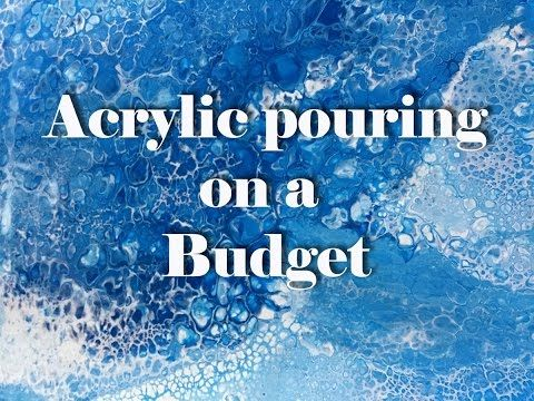BEGINNERS Acrylic Pour Painting DIY ♡ Make Cells with Swipe Technique ♡ Maremi's Small Art ♡ - YouTube