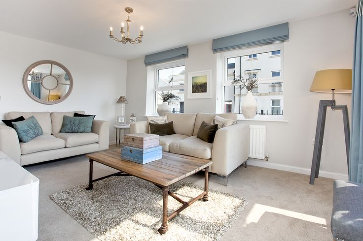 The living room in The Sheringham at Charlton Hayes in Bristol | Bovis Homes