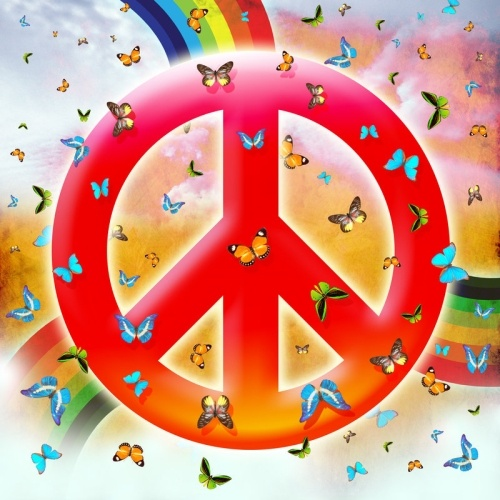 Butterfly Peace Background