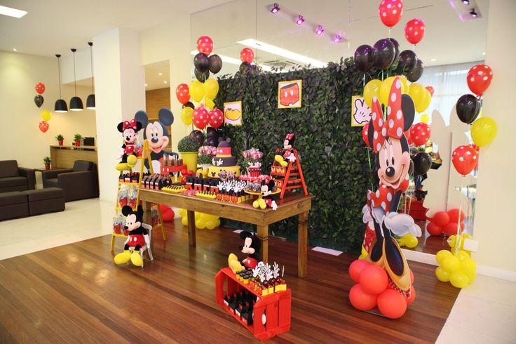 15 melhores imagens de Festa Mickey Mouse u00bao u00ba no Pinterest -> Decoração Para Festa Infantil Zona Leste
