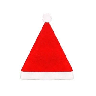 Ce  bonnet Père Noël  est aux couleurs de Noël : rouge et blanc avec un petit pompon blanc.   Et pour compléter votre  déguisement de Père Noël , n'oubliez pas d'acheter la  barbe blanche  !