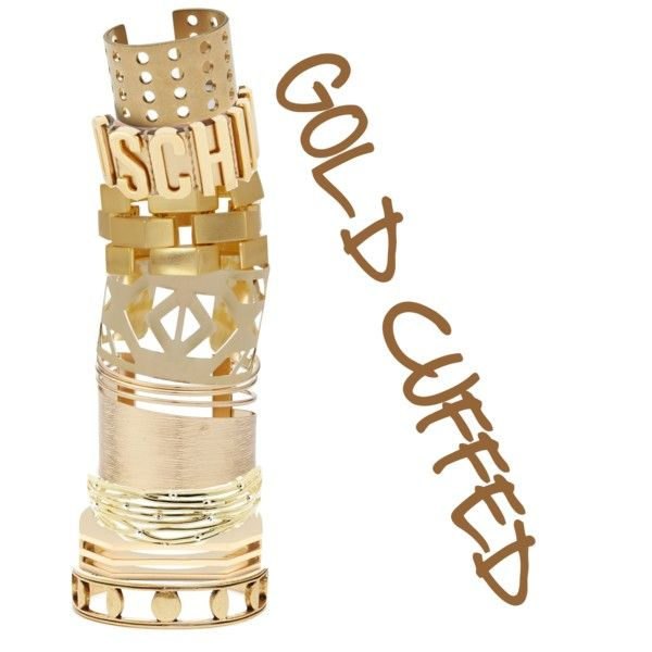 """""""gold cuffed"""" by sferris8 on Polyvore"""