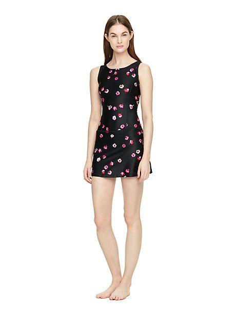 falling floral skort dress - Kate Spade New York