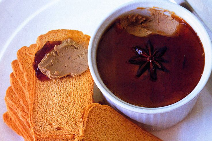 This gourmet liver pate also incorporates shiitake mushrooms to make it even more special.