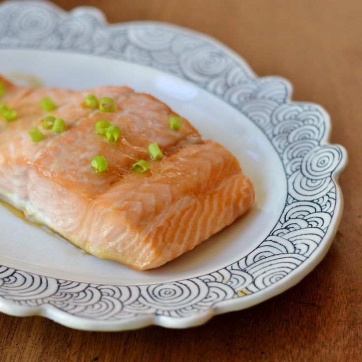 This easy, delicious maple soy salmon is a healthy main course that goes well with many different side dishes.