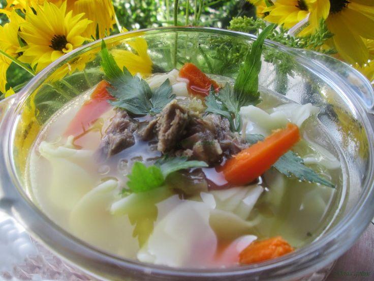 Gosia gotuje: Rosół wołowy z nutką egzotyki