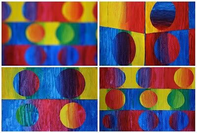 This is an example of colour (also line and shape/form)