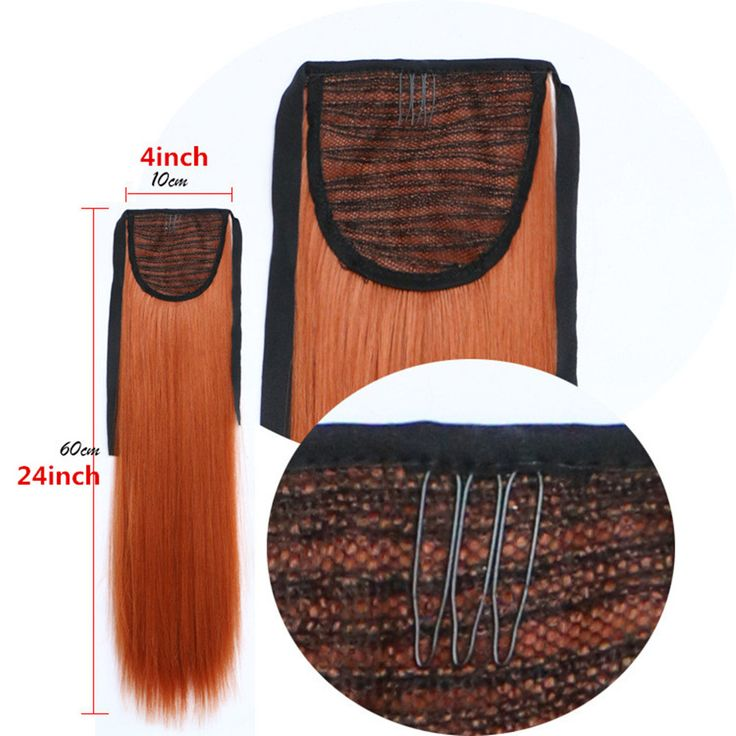 Feibin Synthetic Tie on Ponytail Hair Extension Tail Hairpiece Long Straight Women s Hair Extensions 24inches. Click visit to buy #SyntheticExtensions