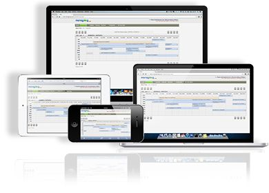 Accessible form all your devices, PC, Mac, tablet or smartphone!