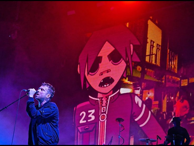 Gorillaz at the Meadows Music and Arts Festival