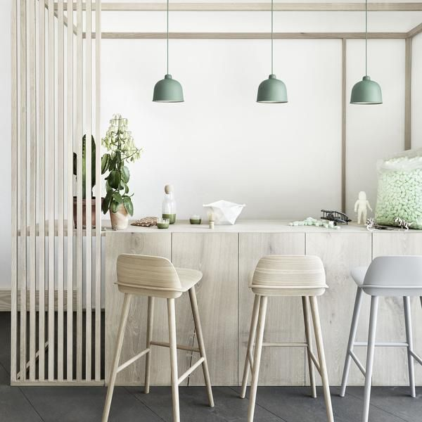 Grain Pendant Lamp Designer: Jens Fager Manufactured by: Muuto Dimensions (in)…