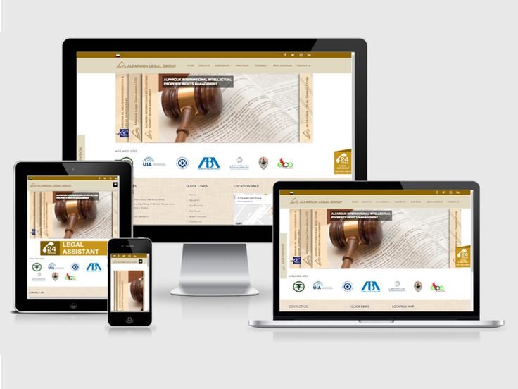 #123Coimbatore team has designed an #responsive #web #design for our Abroad Client - Al Farouk Legal Group => http://www.webdesign.123coimbatore.com/portfolio.php