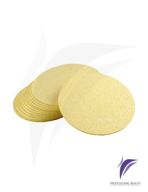 Esponja Celulosa Deshidratada x12: Esponja facial con suave porosidad que permite la limpieza profundidad de la piel.
