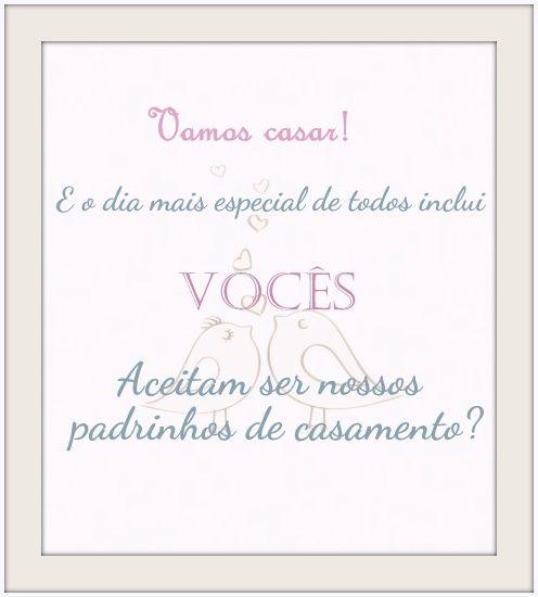 10 best images about Mensagens Padrinhos de Casamento on ...