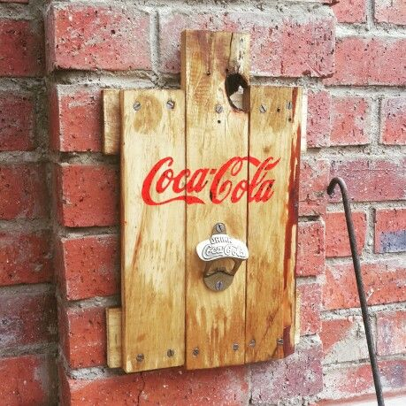 self made Coca-Cola sign