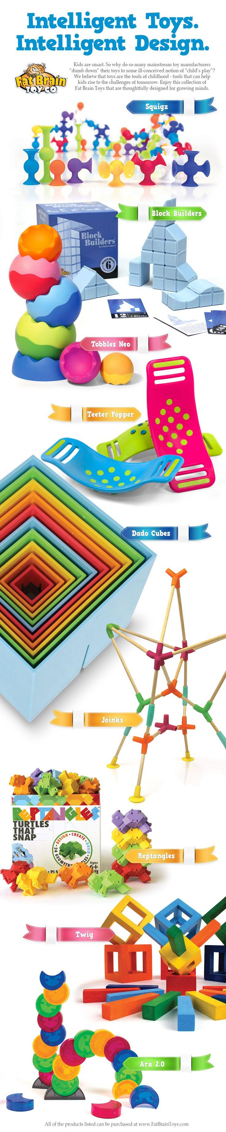 Intelligent Toys. Intelligent Design.
