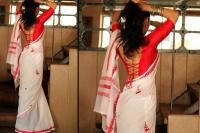 Back designs of blouse