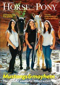 Read about the Wilson sisters in the July 2015 issue of NZ Horse & Pony
