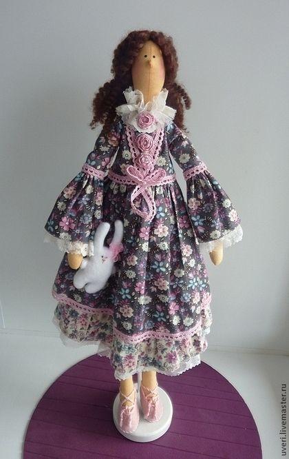 """""""Isabella"""" - artesanais boneca, boneca, boneca de presente, boneca Tilda, boneca têxtil"""