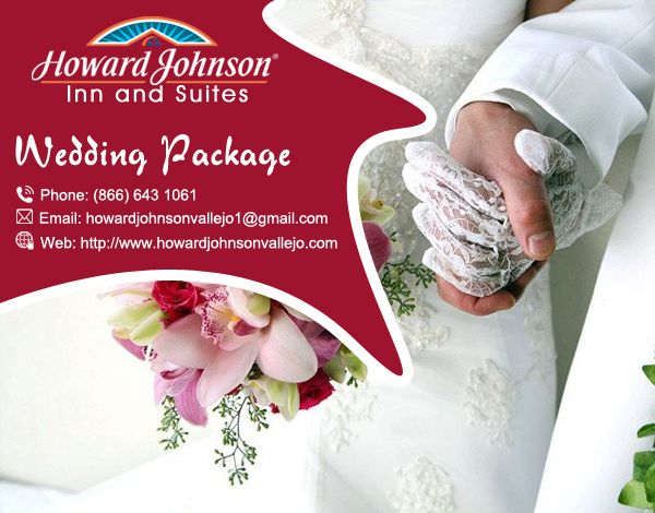 Howard Johnson Inn & Suites of Vallejo offer excellent #Wedding_Package with intimate Benicia Room, fascinating pool location, with its beautiful gazebo. Visit Us At:- http://bit.ly/2ctBog5