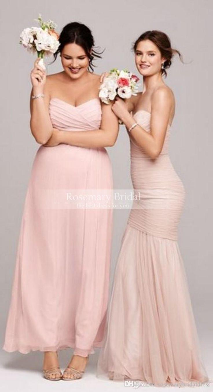 Cheap Modest Style A Line Plus Size Bridesmaid Dresses ...- photo #50
