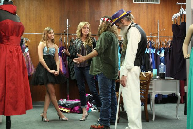 Korie, Willie, and Uncle Si of 'Duck Dynasty' in last season's 'Duck ...