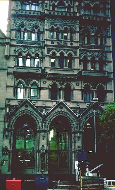 Former Stock Exchange - 351 Collins Street. MELBOURNE [Walking Melbourne Building Information] ~ #Melbourne #Australia