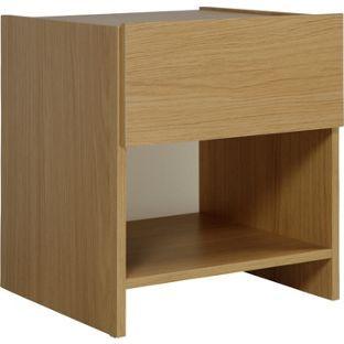 Buy New Denver 1 Drawer Bedside Chest - Oak at Argos.co.uk, visit Argos.co.uk to…
