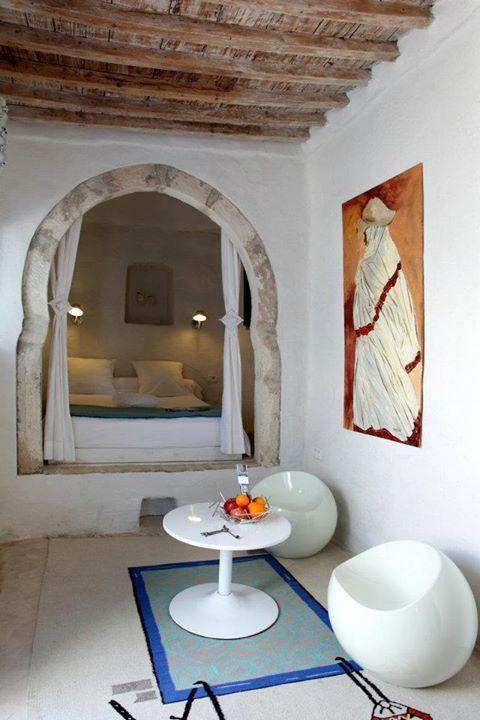 Dar bibine djerba cette maison qui marie merveille for Architecture maison arabe