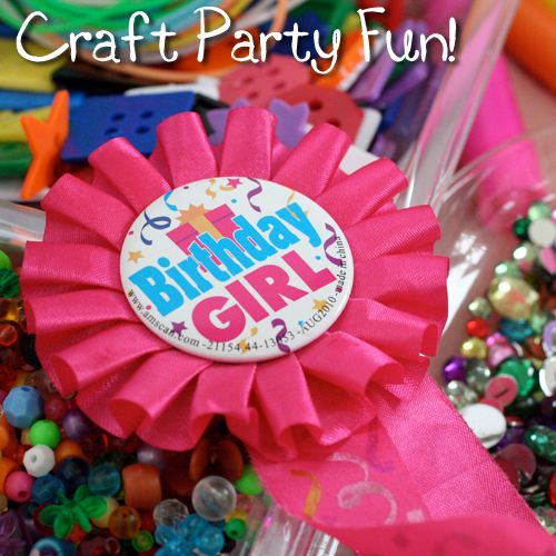 18 best images about party stuff for kids on pinterest for Crafts for 10 year old birthday party