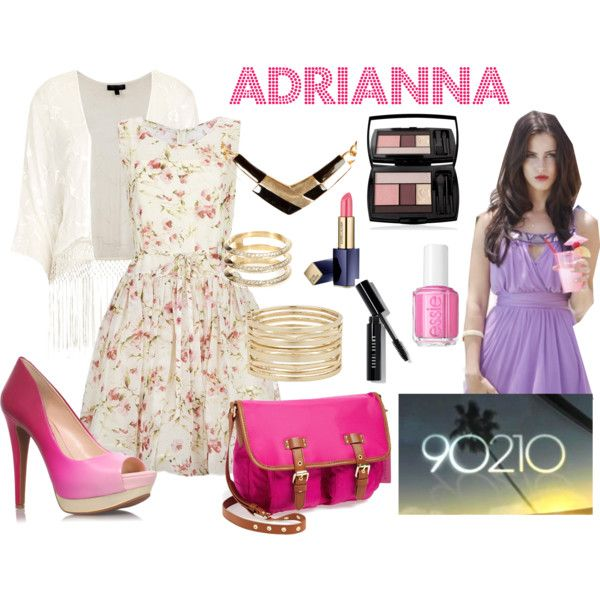 """90210: Adrianna Tate-Duncan"" by yanyaniel on Polyvore"