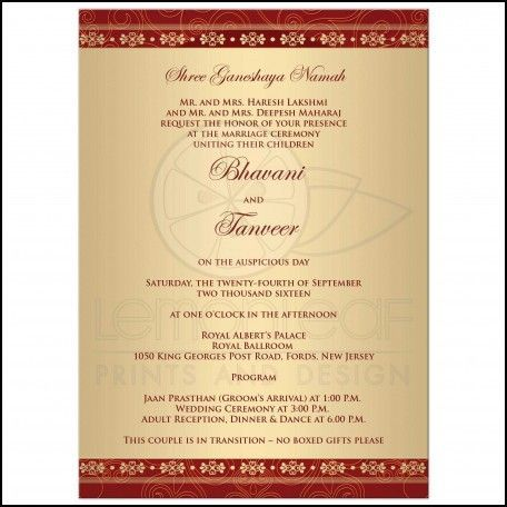 The 25 best marriage invitation wordings ideas on pinterest wedding invitation wording indian marriage weddinginvitationwording stopboris Image collections