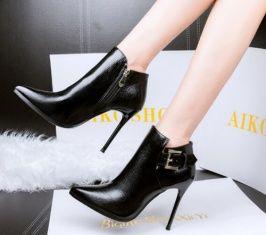 Cheapest Pumps New European Show Thin Autumn Fashion Sexy Lady Stilettos Black