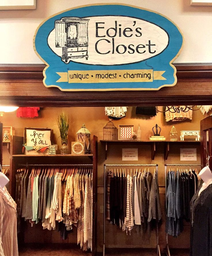 "29 Likes, 2 Comments - Salon & Spa in the Tower (@saloninthetower) on Instagram: ""Have you visited Edie's Closet yet? This adorable boutique is located right in your favorite salon…"""