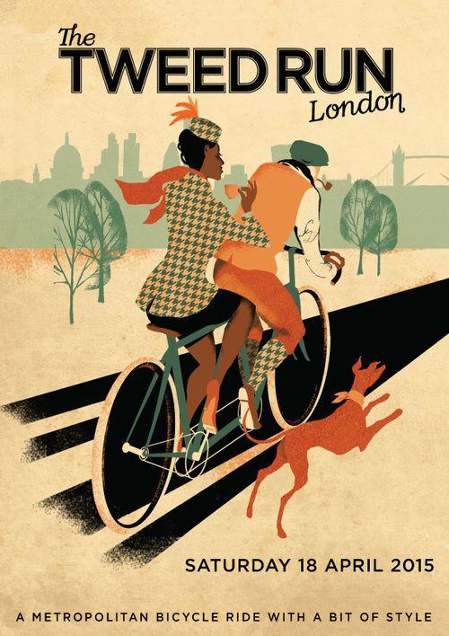 The TWEED RUN in London