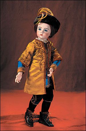 1914 French art doll sculpted by Albert Marque