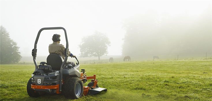 Husqvarna commercial lawn mowers, including zero turns and walks, have the performance and productivity your business needs.