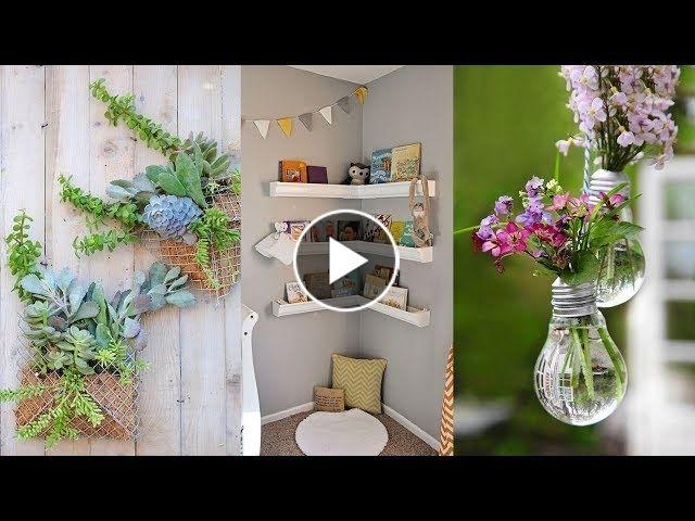 Diy Room Decor 2018 20 Simple Crafts Life Hacks 5