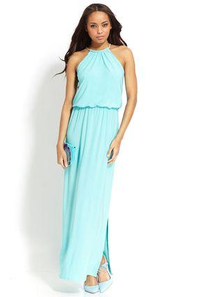 On ideeli: MSK Sleeveless Halter Neck Maxi Dress